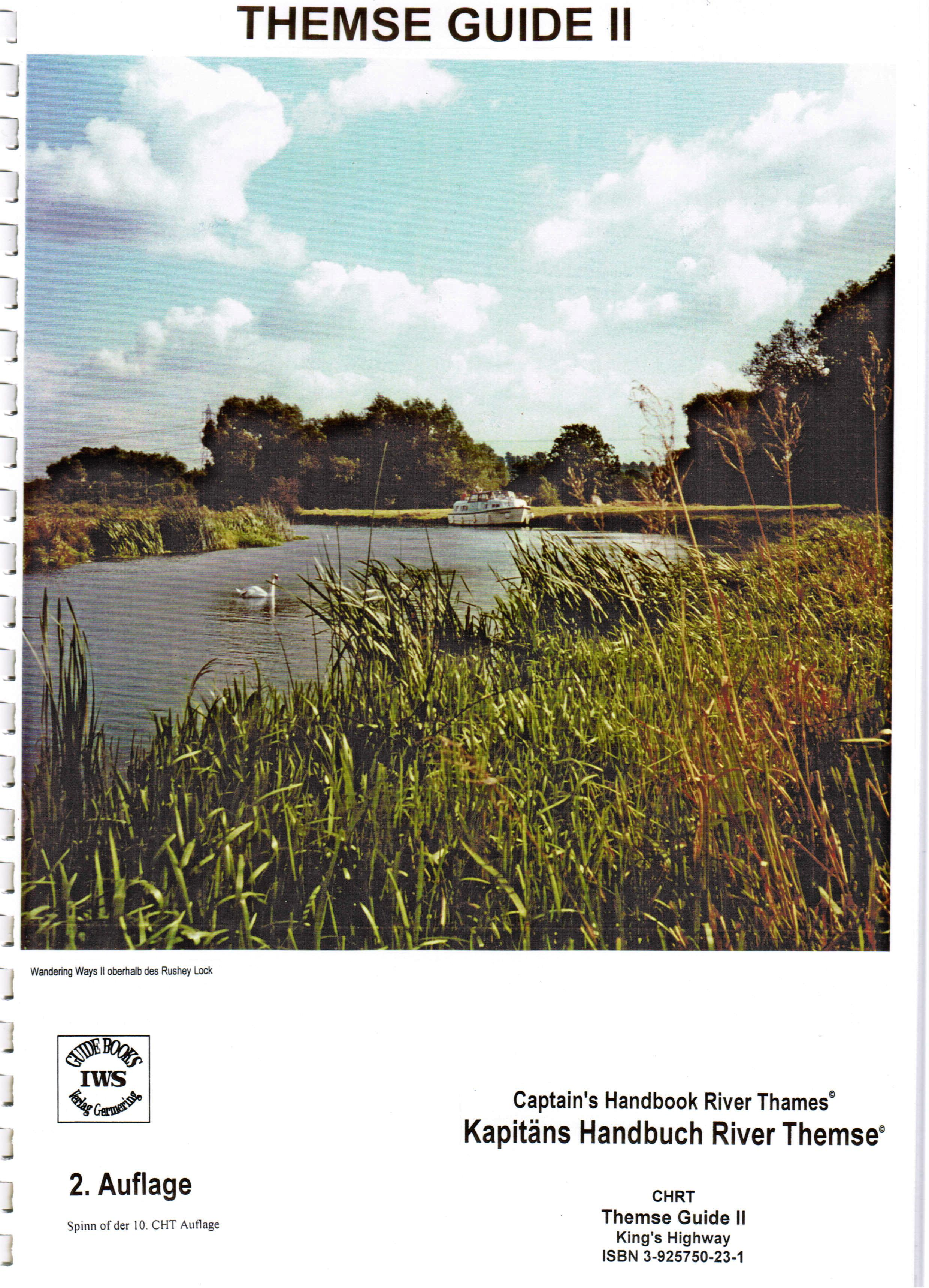 River Thames (Themse), Thames Guide (c) IWS Verlag, Inland Waterways Service (IWS)